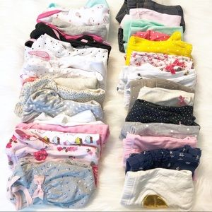 Huge bundle box baby girl clothes 0-3m to 6-12m